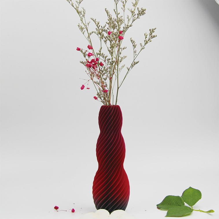 3D打印螺旋花瓶