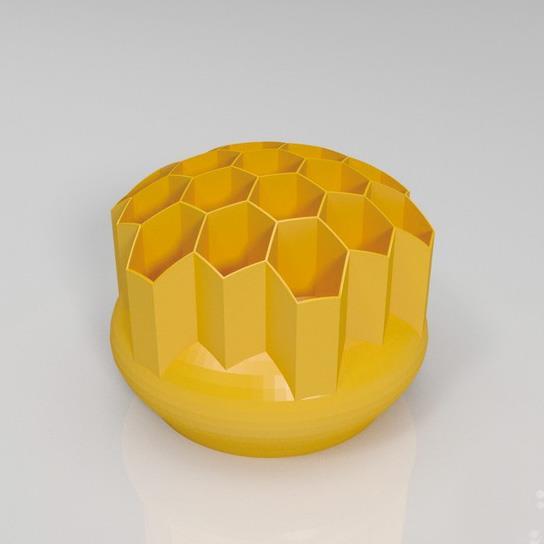 蜂窝笔筒3D打印模型,蜂窝笔筒3D模型下载,3D打印蜂窝笔筒模型下载,蜂窝笔筒3D模型,蜂窝笔筒STL格式文件,蜂窝笔筒3D打印模型免费下载,3D打印模型库