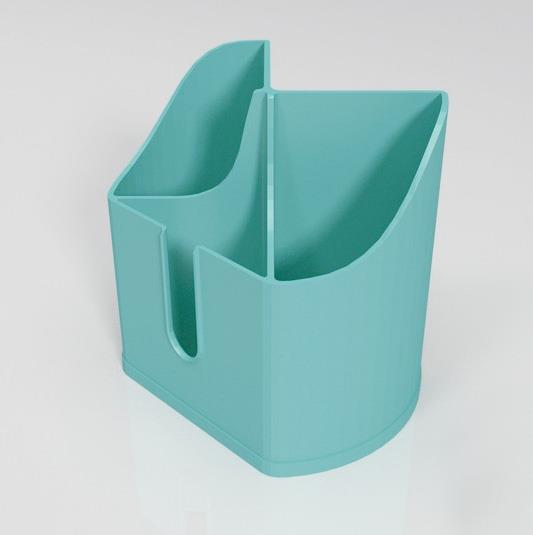 3D打印 多间隔笔筒 STL数据,STL数据下载
