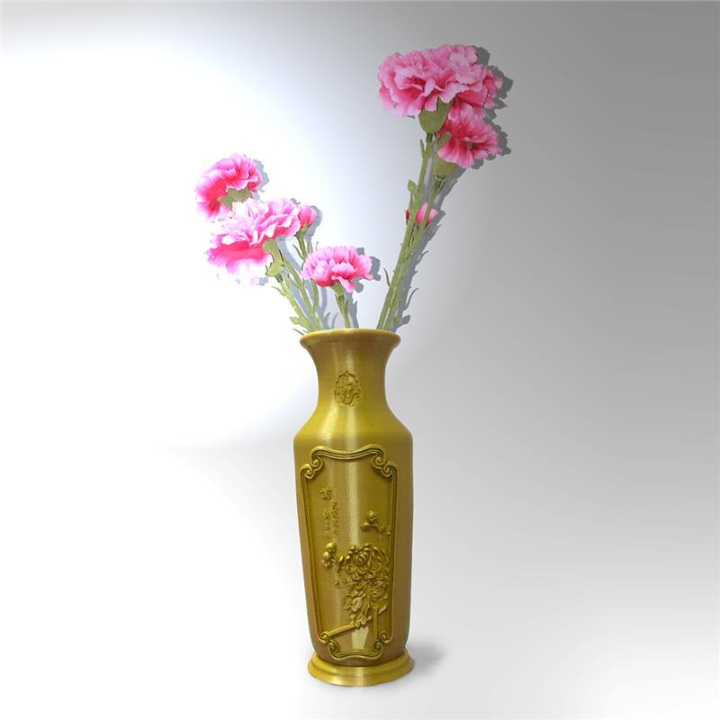 3D打印 橘梅福花瓶 STL数据下载
