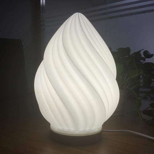 3D打印 3D打印台灯-璇明(玉白)模型图片、模型下载、STL文件下载