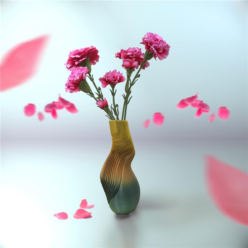 3D打印曲线(花瓶)