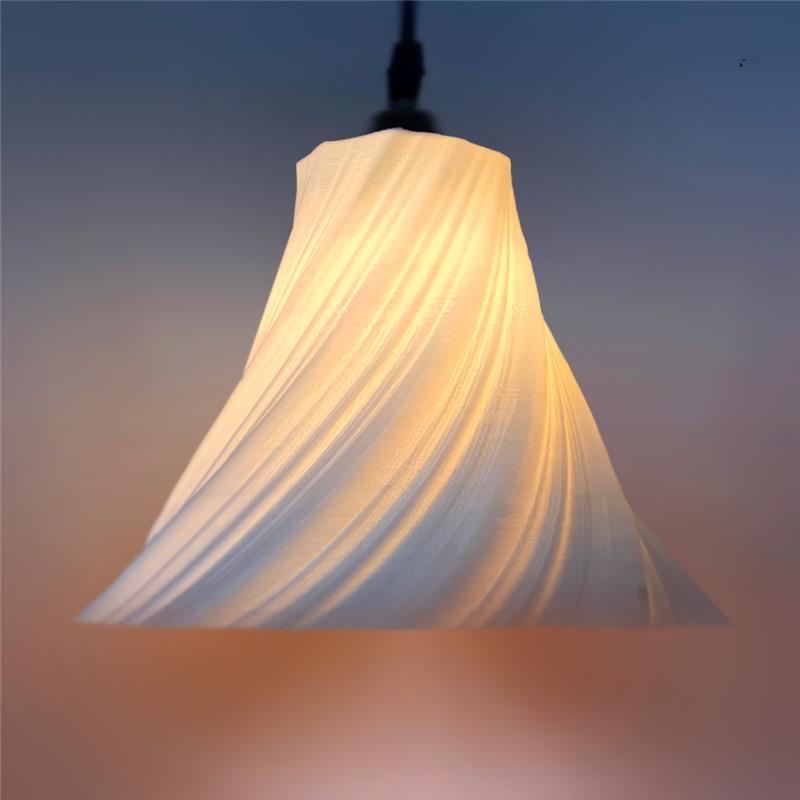 3D打印 裙吊灯灯罩模型图片、模型下载、STL文件下载