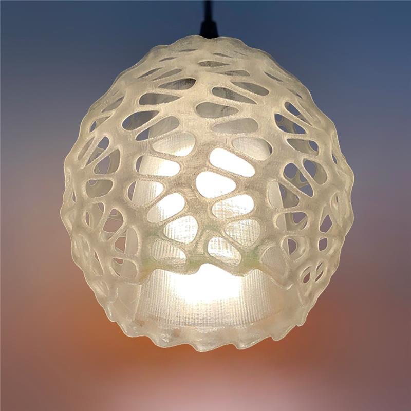3D打印 瑞丽兰吊灯灯罩 STL数据下载