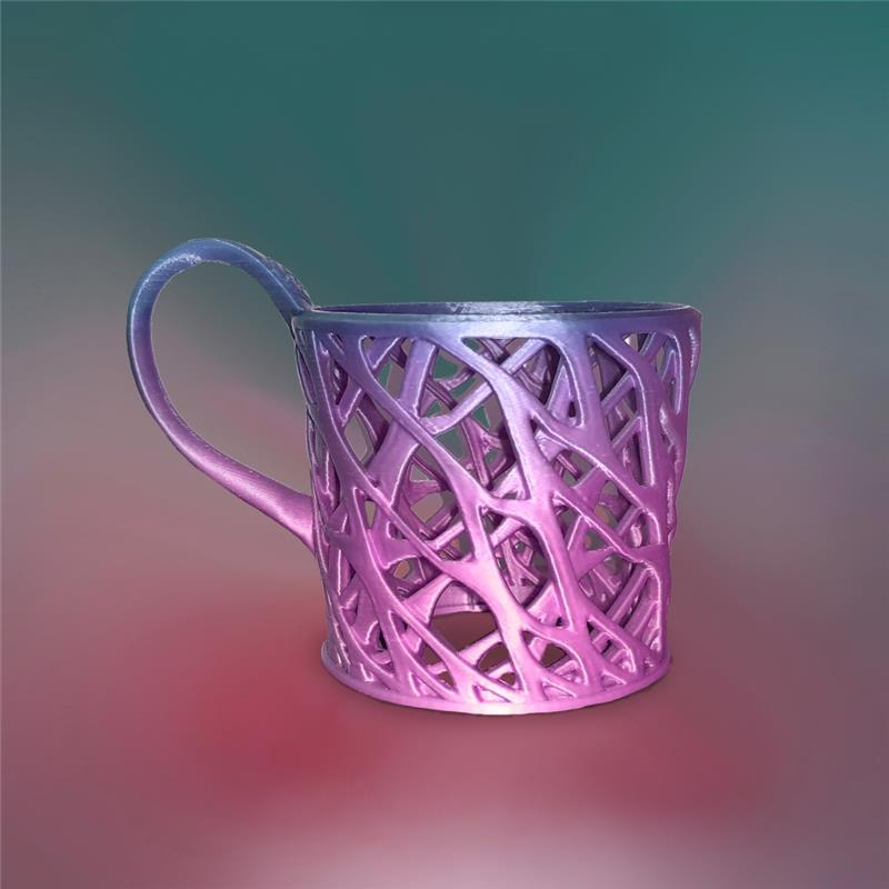 3D打印星空闪烁(杯托)渐变色
