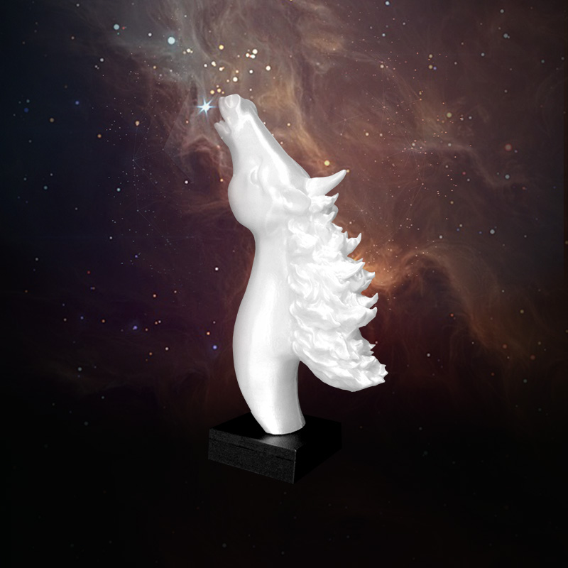 3D打印仰望星空