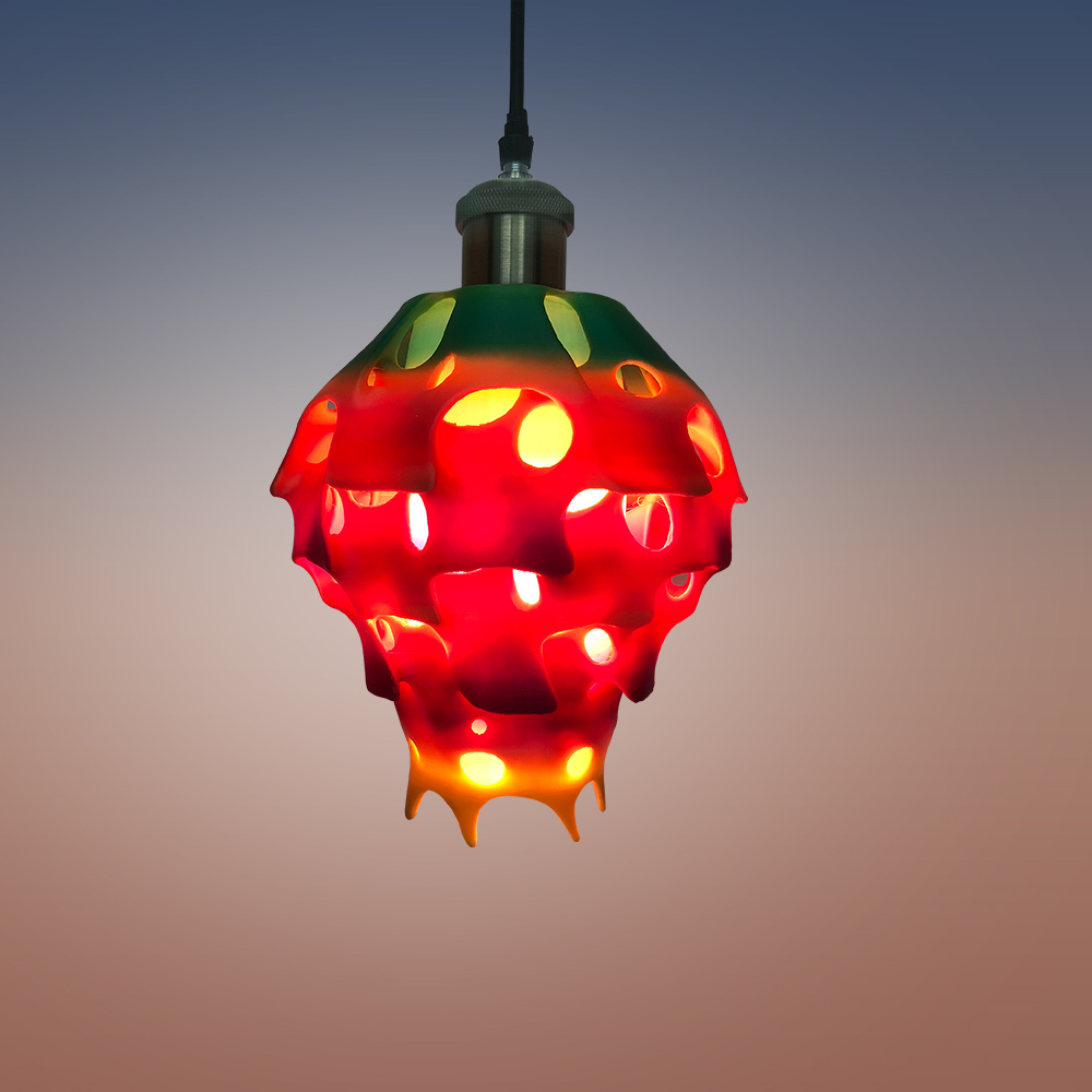 3D打印流水灯罩 STL数据下载、在线打印