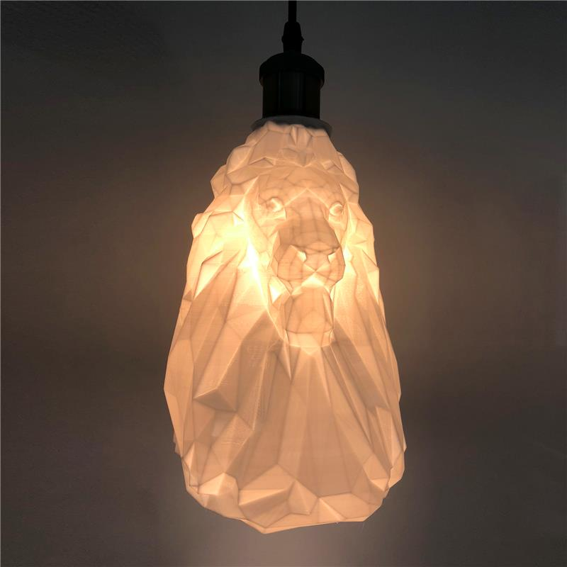 3D打印狮子吊灯