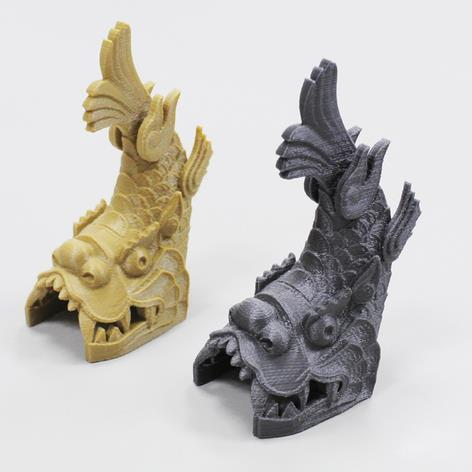 3D打印 龙鱼模型图片、模型下载、STL文件下载