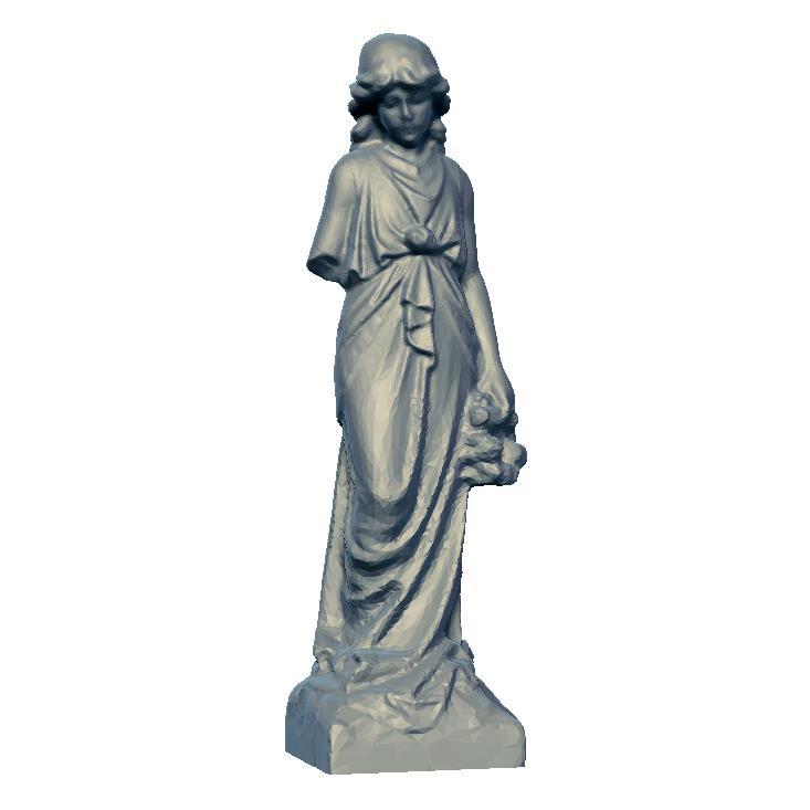 3D打印女雕塑 STL数据下载、在线打印