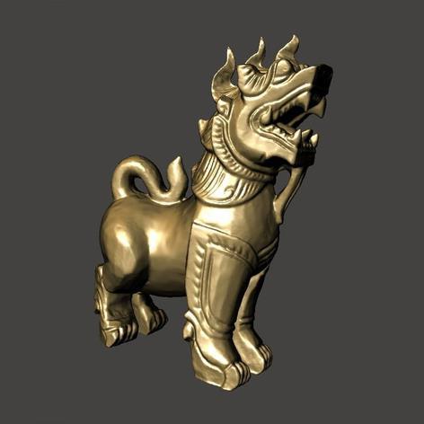 3D打印守护者狮 STL数据下载、在线打印