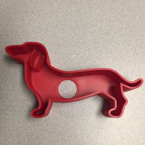 3D打印腊肠犬曲奇 STL数据下载、在线打印