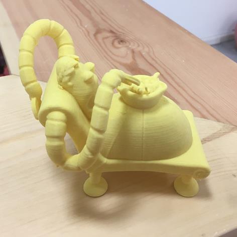 3D打印 享乐主义机器人模型图片、模型下载、STL文件下载