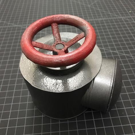 3D打印 蒸汽阀旋钮模型图片、模型下载、STL文件下载