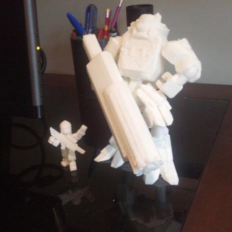 3D打印 泰坦阿特拉斯模型 STL数据,STL数据下载
