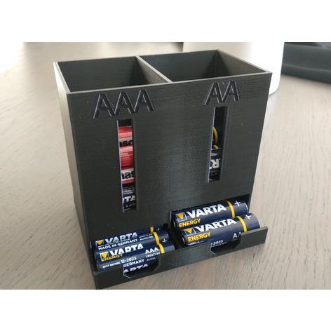 3D打印 电池收纳盒 STL数据,STL数据下载
