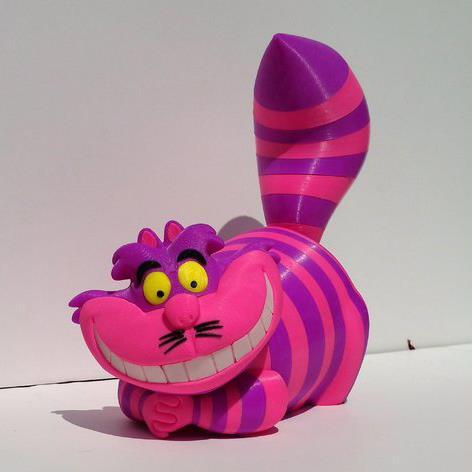 3D打印 咧嘴猫模型图片、模型下载、STL文件下载