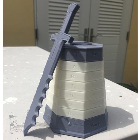 3D打印神秘之谜 STL数据下载、在线打印
