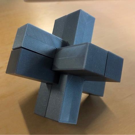 3D打印 木匠结模型图片、模型下载、STL文件下载