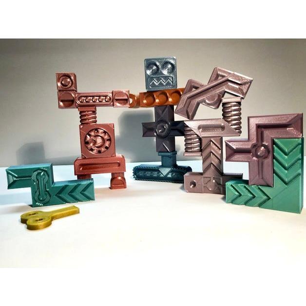 3D打印 拼图游戏模型图片、模型下载、STL文件下载