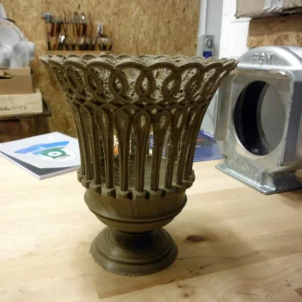 3D打印瓷瓶世纪