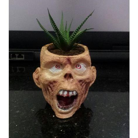 3D打印花瓶僵尸