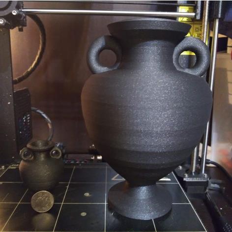 3D打印希腊花瓶